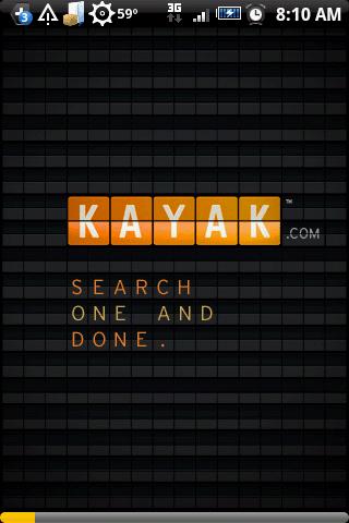 kayak flights