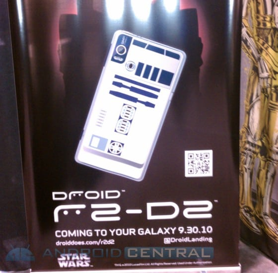 Motorola Droid 2 R2D2 Edition: Star Wars
