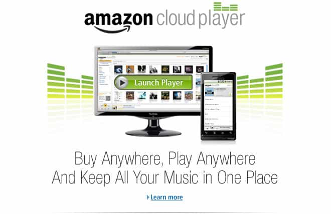 amazon cloud player service music industry
