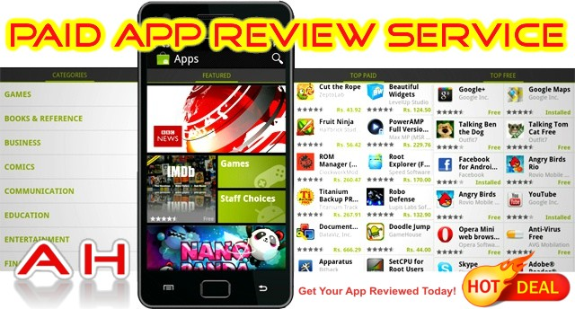 make money reviewing android apps