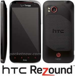 HTC Rezound press shots, video samples revealed ahead of announcement