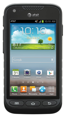 Samsung Galaxy Rugby Pro (Front)