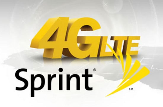 Sprint's 4GLTE Logo