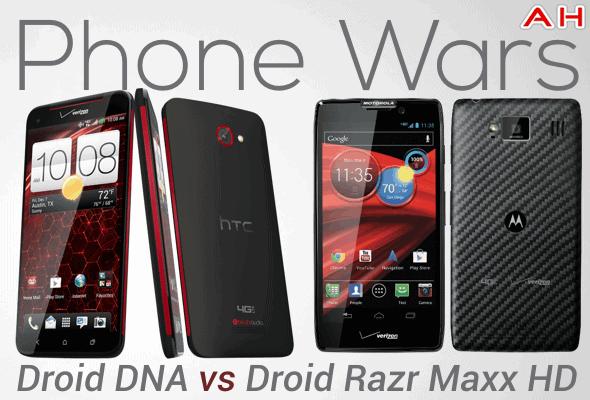 razr maxx vs iphone - dimensions