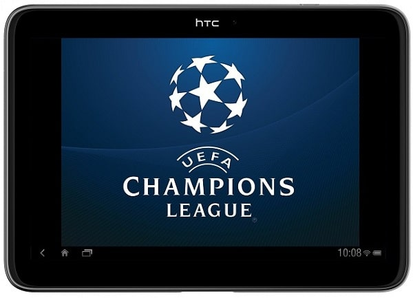 HTC-tablet-with-UEFA-wallpaper