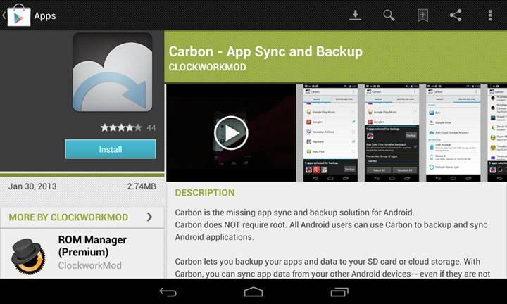 Carbon-Backup-App
