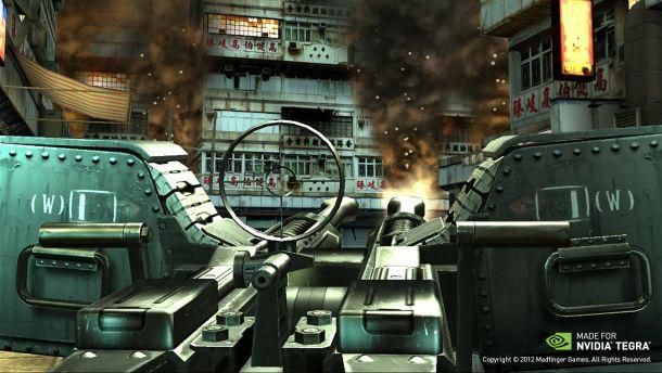 Dead Trigger 2 turret
