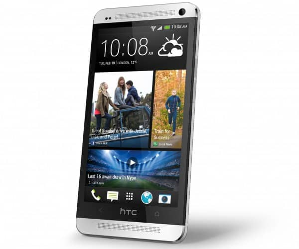 HTC One_Silver_Left
