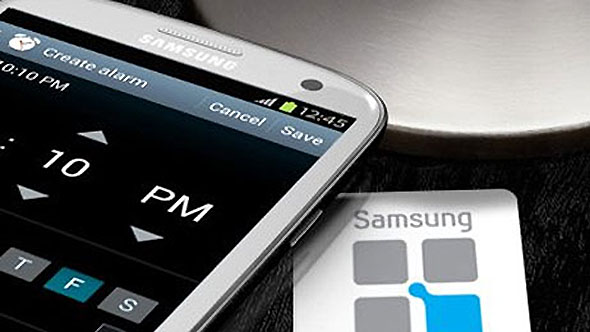 Samsung NFC-enabled Device