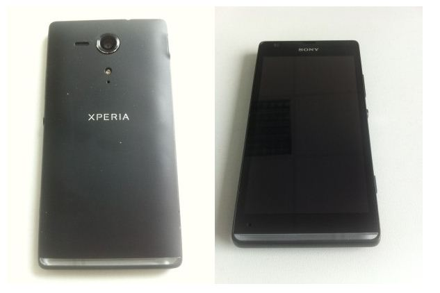 Sony Xperia SP Aluminum Build