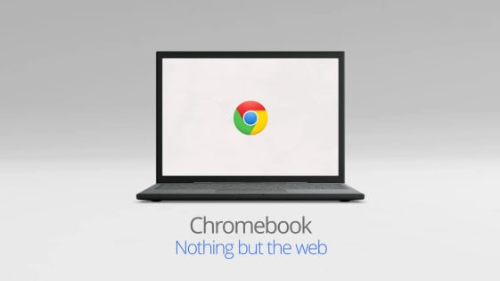 chromebook Advert Front