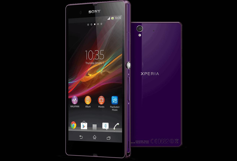 Sony Xperia Z Proving Popular Xperia Z Purple