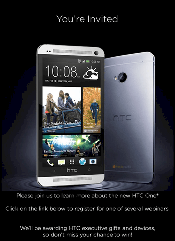 HTC One Training