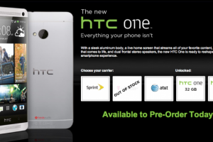 T-Mobile HTC One Sells Out; AT&T, Sprint and Unlocked Versions Still In Stock