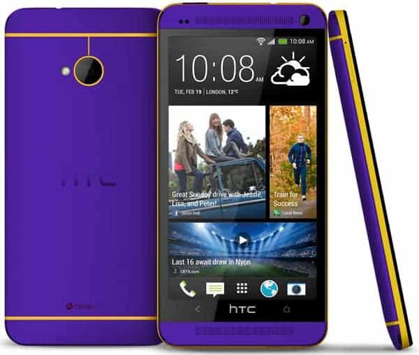 Htc Purple Htc-one_lakers-purple