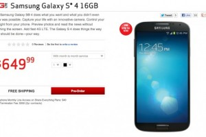 Verizon's Galaxy S IV Up for Pre-Order Now!