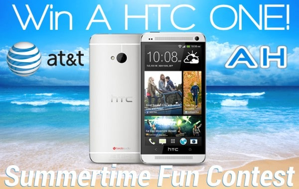 AT&T AH HTC ONE GIVEAWAY