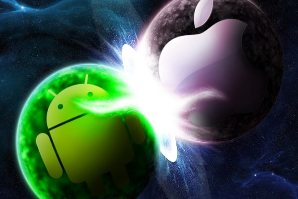 Android-Apple-battle