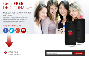 Verizon Droid DNA Promotion Points to a Possible Offering of the HTC One