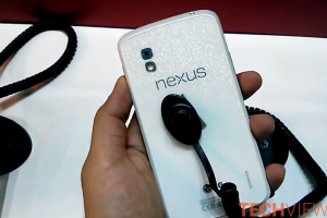 White Nexus 4 Variant Shows Up in Hands On Video