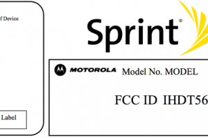 Motorola's XT1056 Visits the FCC – Heading to Sprint Soon?