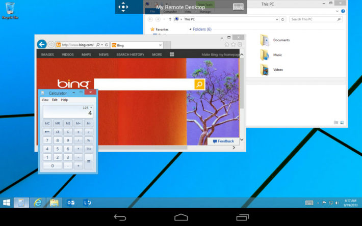 Microsoft Releases Remote Desktop To The Play Store; Surprisingly a Good Effort
