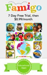 Famigo App for Child Menu 3