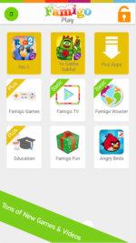 Famigo App for Child Menu 8