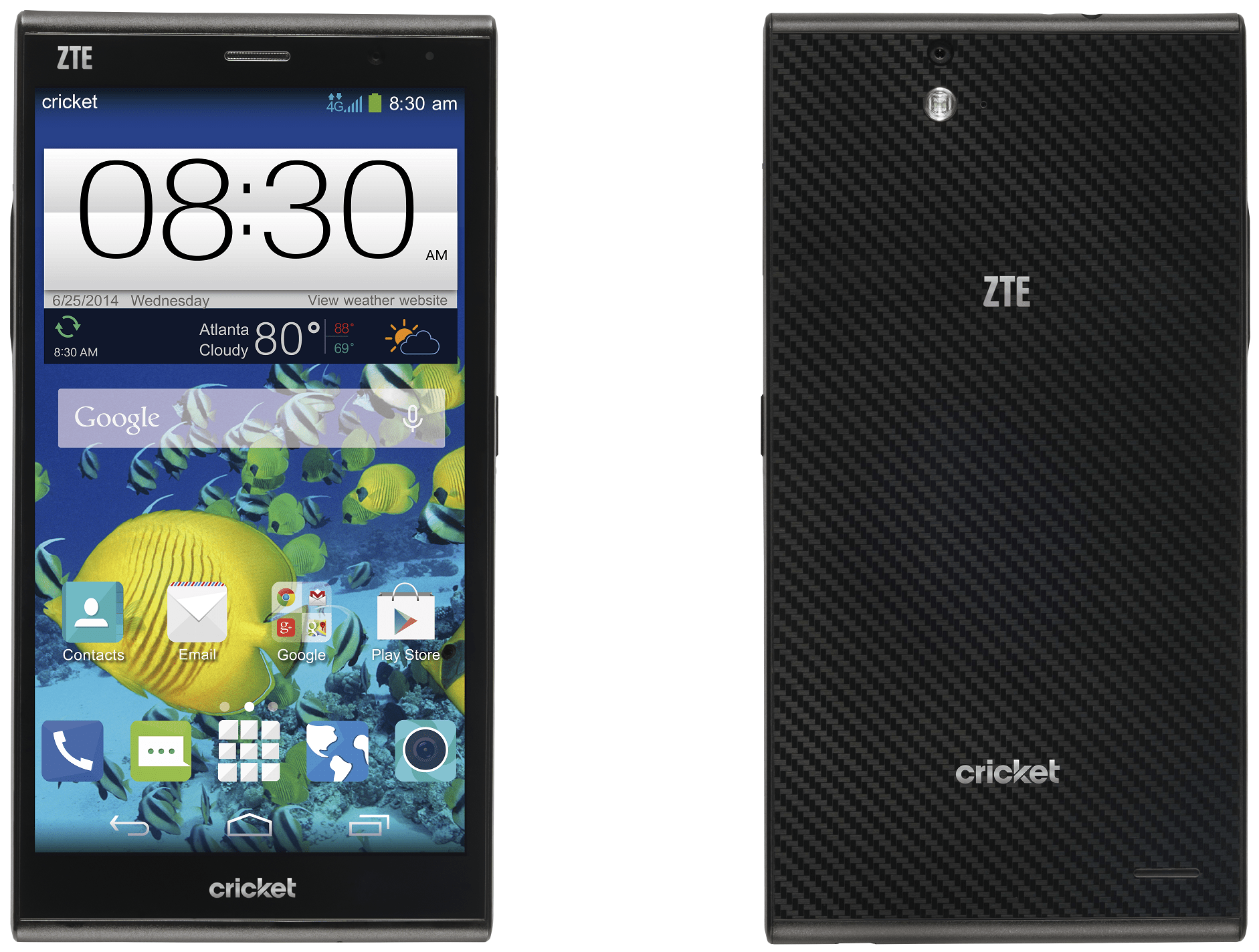 Cricket Announces The Zte Grand X Max With 6 Inch Display