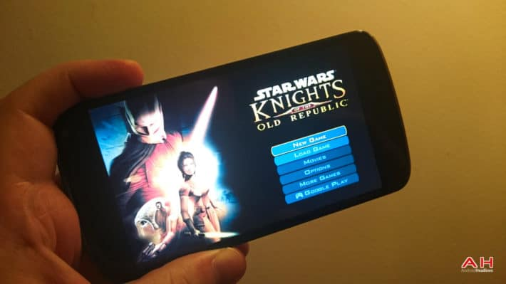 Aspyr Media Releases Star Wars Knights Of The Old Republic Onto Android
