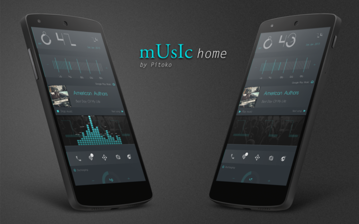 Top Android Homescreen January 30th: Music Home