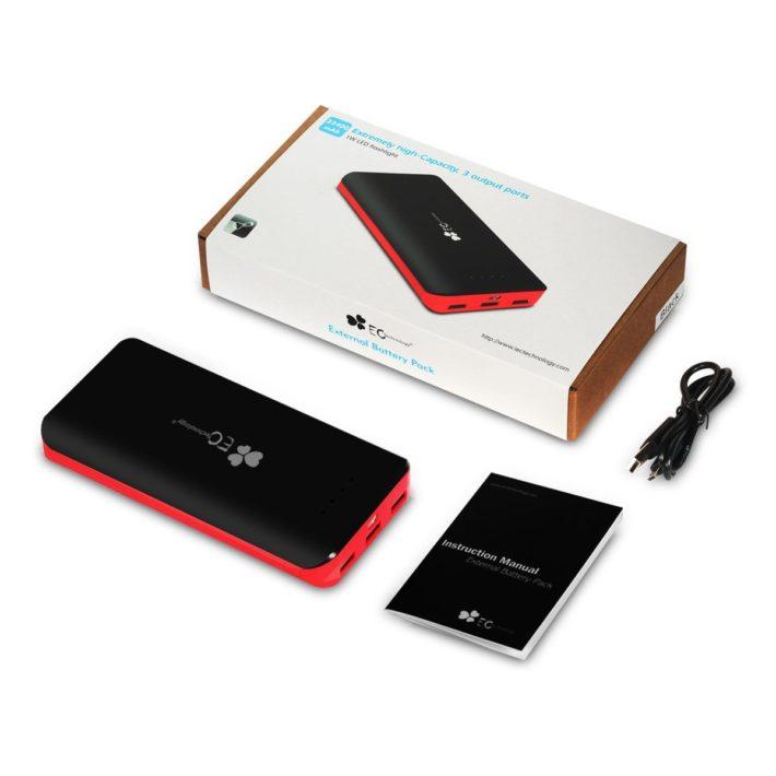 Deal: EC Technology 2nd Gen Deluxe 22,400mAh Battery Pack – $35