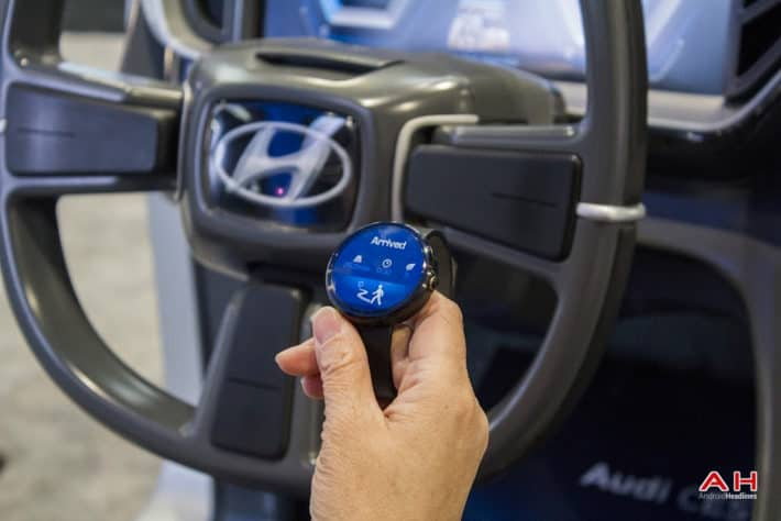 CES 2015: Hands On With Hyundai Blue Link Remote Voice Control Via Android Auto And Android Wear