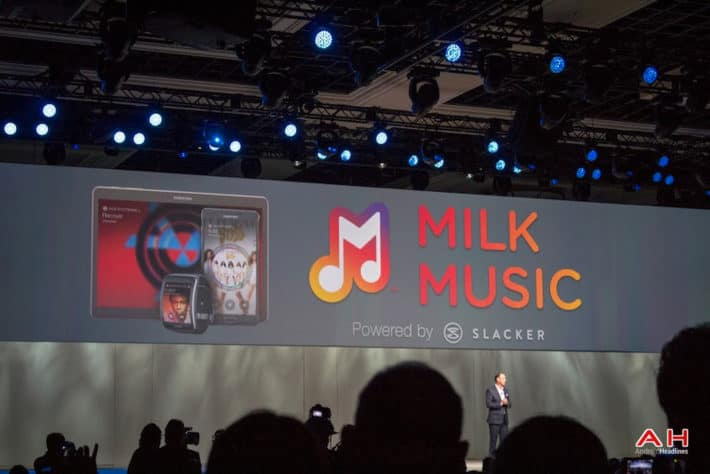 Samsung Includes Milk Music And Milk Video On Both The Galaxy S6 And Galaxy S6 Edge