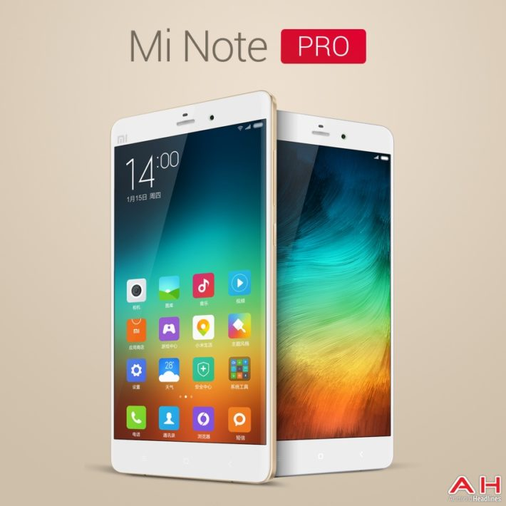 Report: Xiaomi Mi Note Pro Won't Be Available Until The Beginning Of March