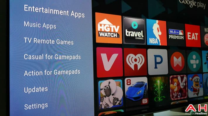 Android Headliner: Android TV Is An Android Platform Without Any Android Apps