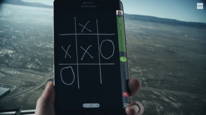 The Galaxy Note Edge To Land In Malaysia Next Month; Samsung Released A New Note Edge Ad