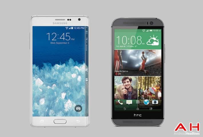Phone Comparisons: Samsung Galaxy Note Edge vs HTC One M8