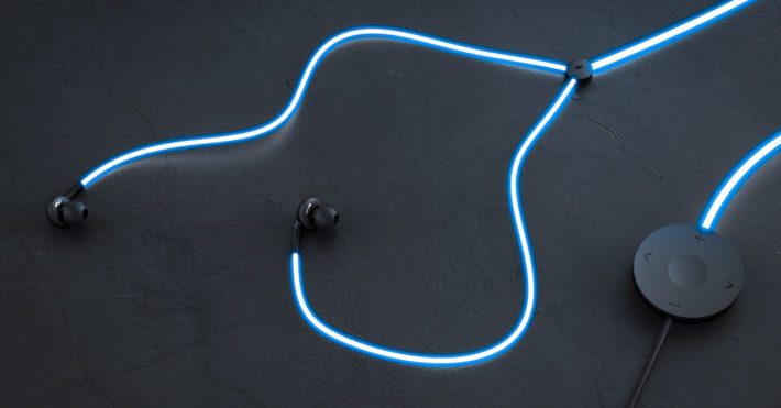 Glow Headphones On Kickstarter Will Pulse To The Beat Of Your Music