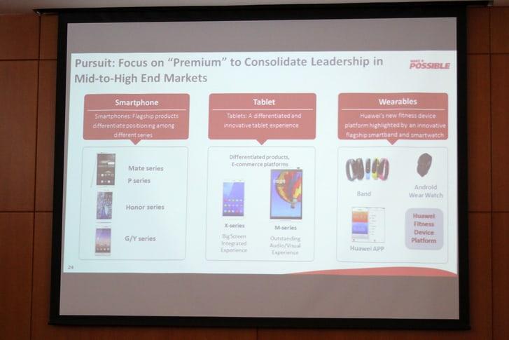 Huawei presentará en el MWC nuevos dispositivos, y un smartwatch