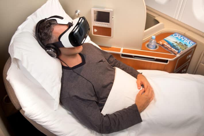 Qantas To Deploy Samsung's Gear VR Headset During Select Long-Haul Flights
