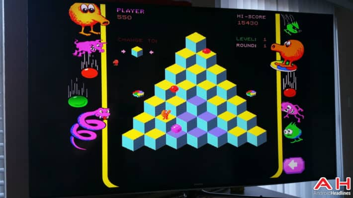 80's Arcade Classic Q*bert Is Now Available For Your Android TV Gaming Pleasure