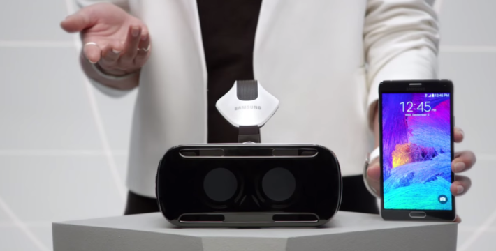 Samsung Release Their First Samsung Gear VR Video And It Is A little Strange