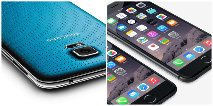 Apple Managed To Catch Up To Samsung In Q4 2014, They Are Now Tied As The World's Biggest Smartphone OEMs
