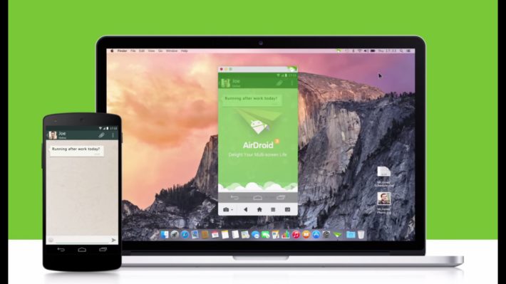 AirDroid Gets Updated To Version 3.0.3 And Adds Compatibility With Lollipop For AirMirror Feature