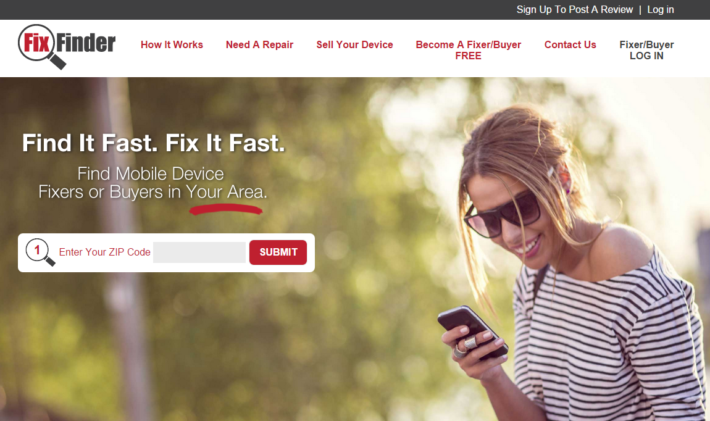 FixFinder Aims To Make Finding Mobile Device Repair Shops Easy And Quick