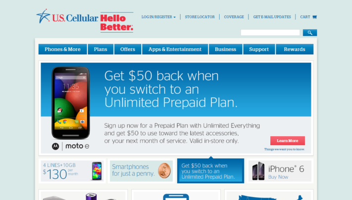 U.S. Cellular Lowers Prices On Some Simple Connect Prepaid Plans