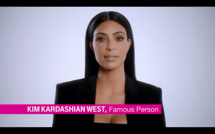Kim Kardashian Talks About T-Mobile Data Stash In Super Bowl Commercial