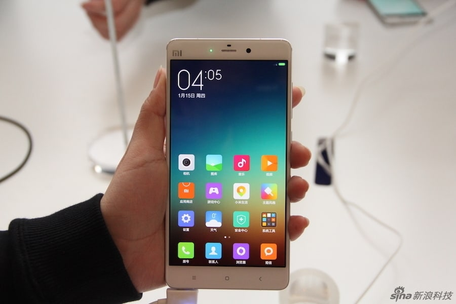 Xiaomi Mi Note and Mi Note Pro hands-on (Sina Technology)_3
