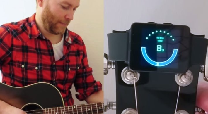 atHandTuner Puts A Guitar Tuner On Your Android Wear Smartwatch